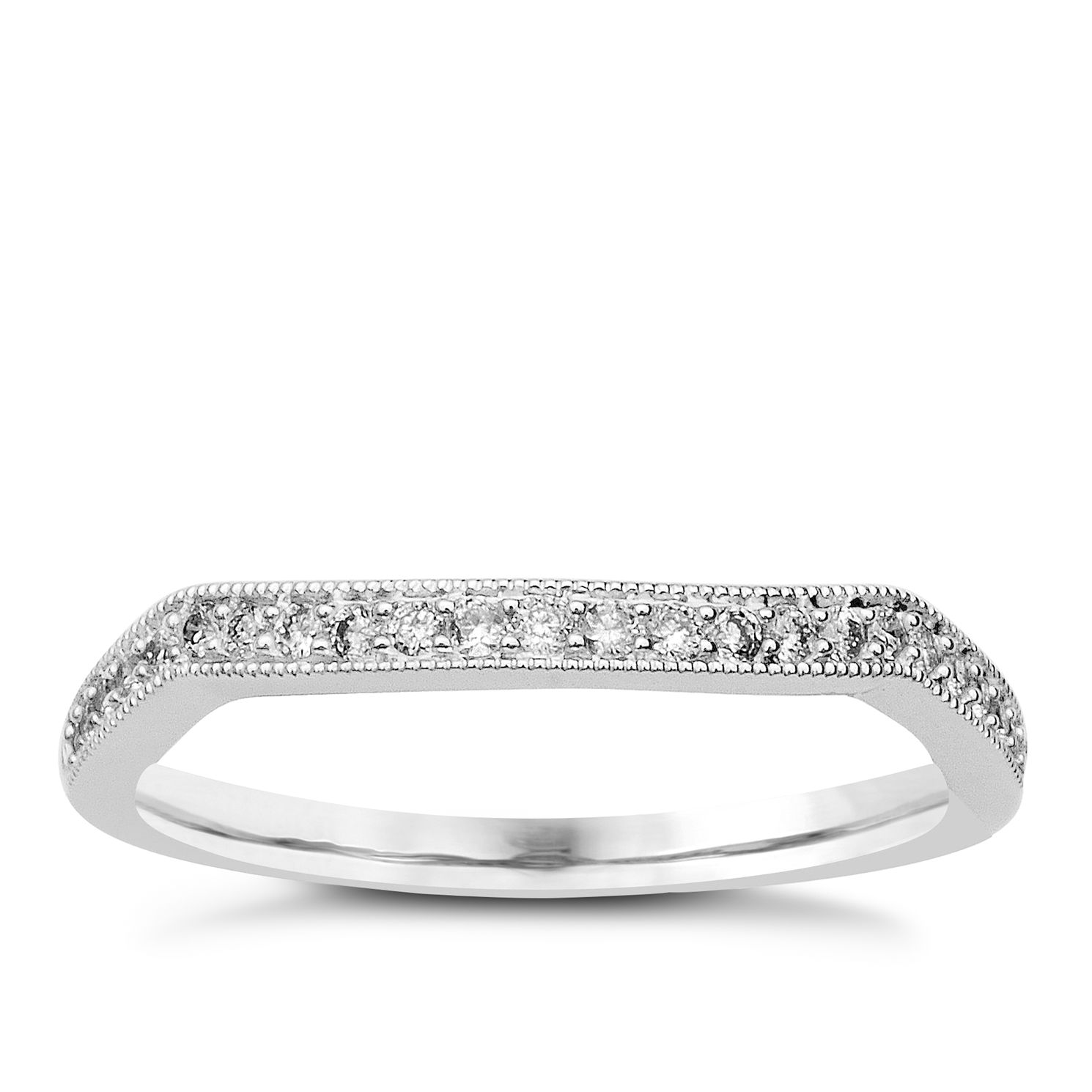 Perfect Fit 18ct White Gold & Diamond Eternity Ring - Product number 9983155