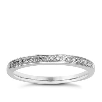 9ct White Gold & Diamond Perfect Fit Eternity Ring - Product number 9984488