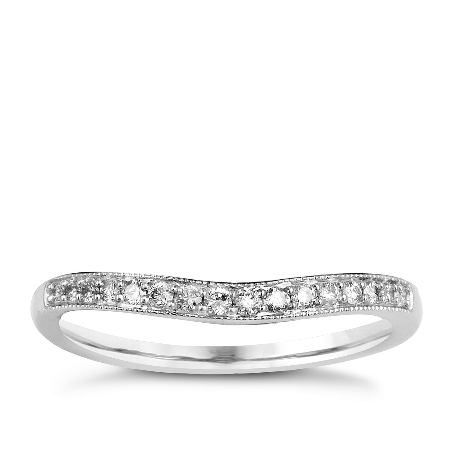 Perfect Fit 9ct White Gold & Diamond Eternity Ring - Product number 9985026
