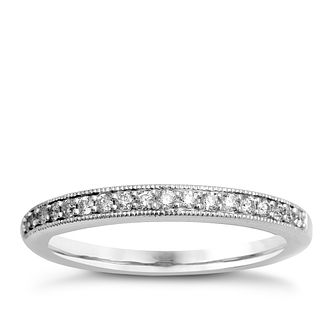 9ct White Gold & Diamond Perfect Fit Eternity Ring - Product number 9985158