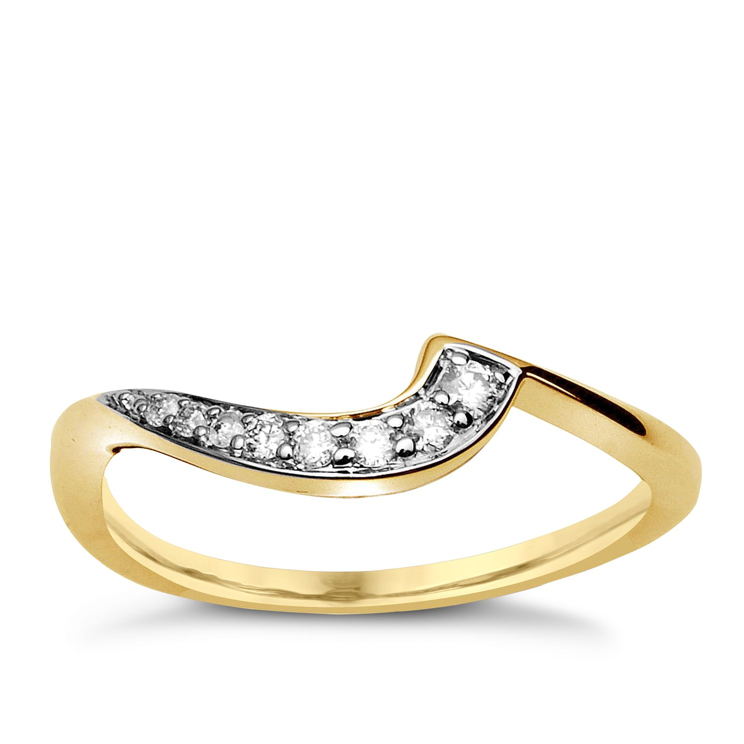 9ct Yellow Gold & Diamond Perfect Fit Eternity Ring - Product number 9985549